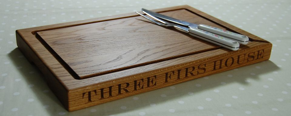 Personalised Oak Carving Boards