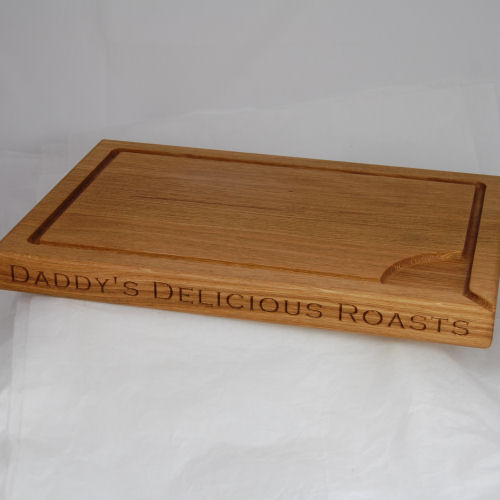 Personalised Oak Carving Board
