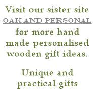 More hand made wooden gifts