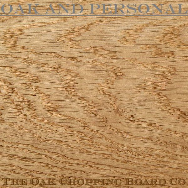 English oak - crown sawn