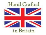 Hand crafted in Britain - Made in the UK