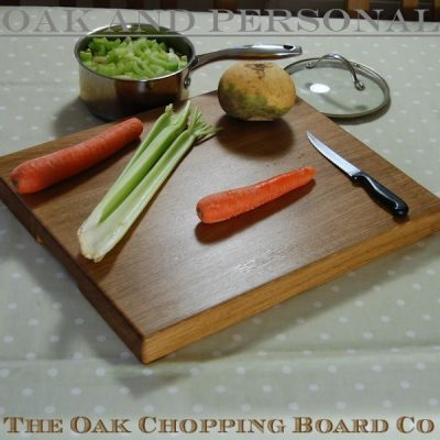 Large personalised wooden chopping board