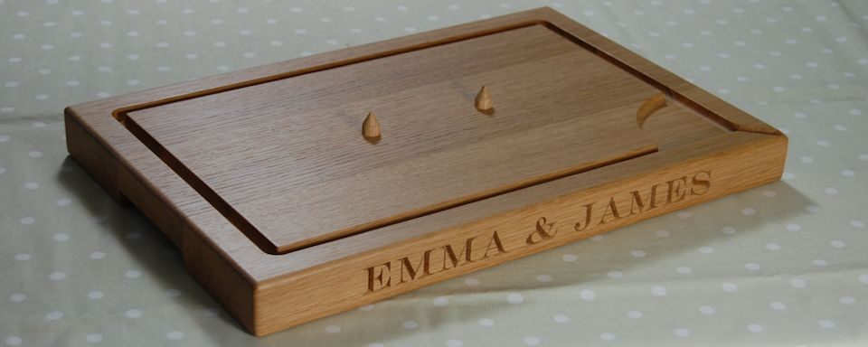 Personalised Carving Boards with or without Spikes