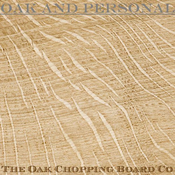 English oak - quarter sawn