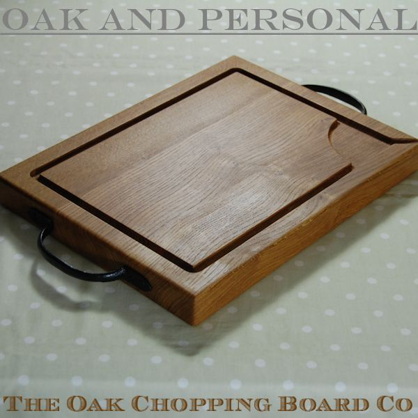 Rustic wooden carving board, size 30x40x4cm