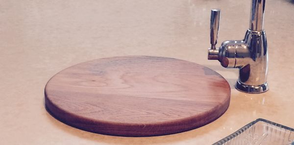 Bespoke sink top chopping board