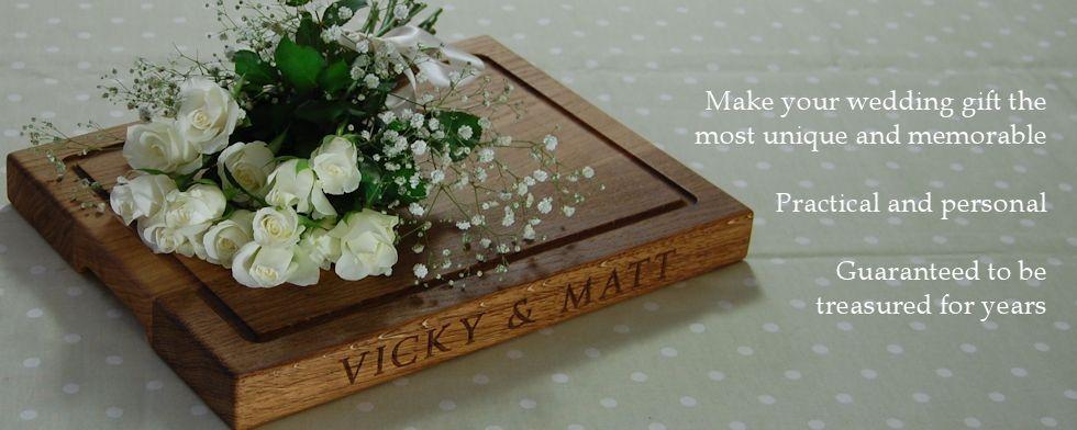 Memorable wedding gifts